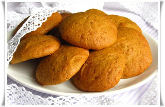 Тыквенное печенье, пахта