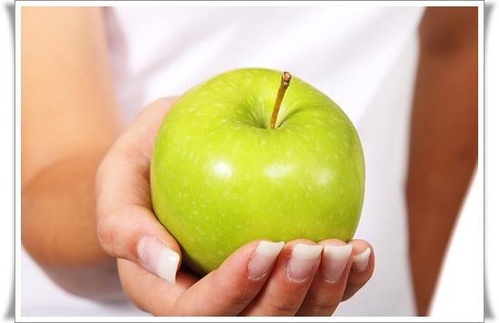 Яблоки во время диеты